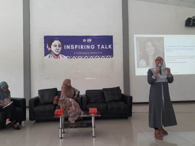Inspiring Talk for Students on Kartini Day 2019